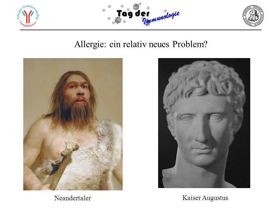 Allergie: ein relativ neues Problem
