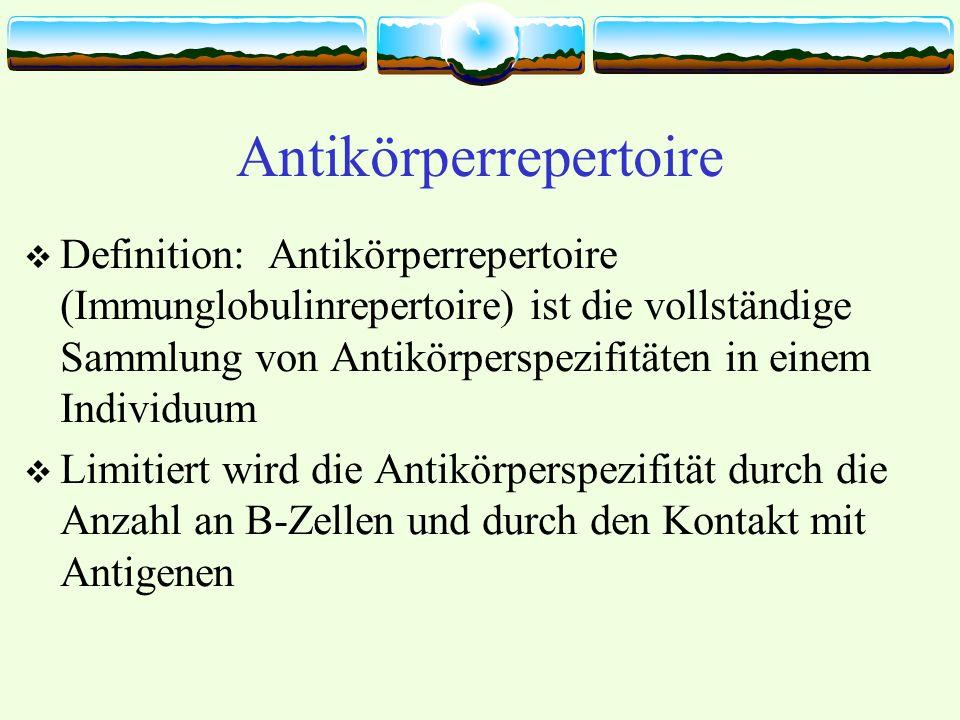Antikörperrepertoire