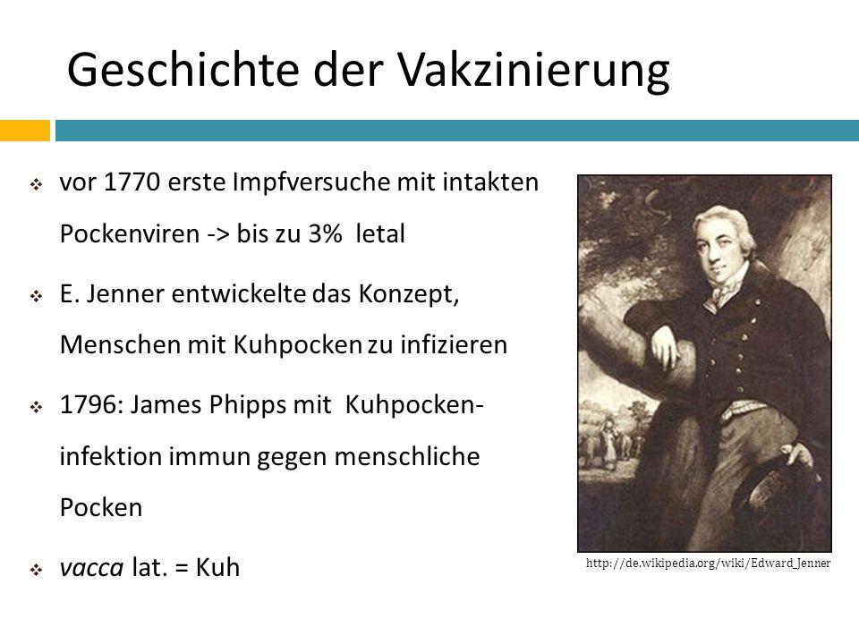 Geschichte der Vakzinierung