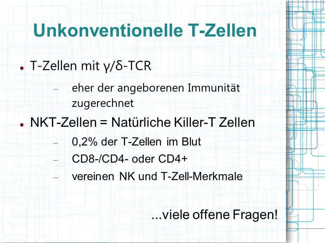 Unkonventionelle T-Zellen