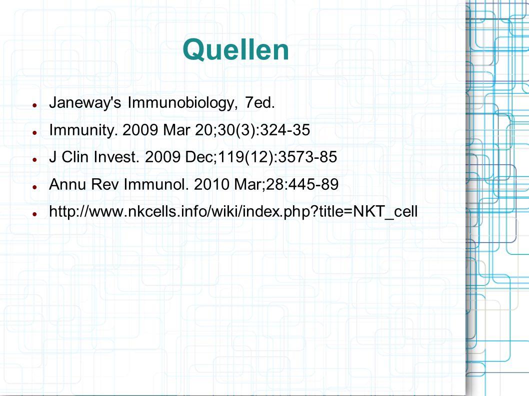 Quellen Janeway s Immunobiology, 7ed.