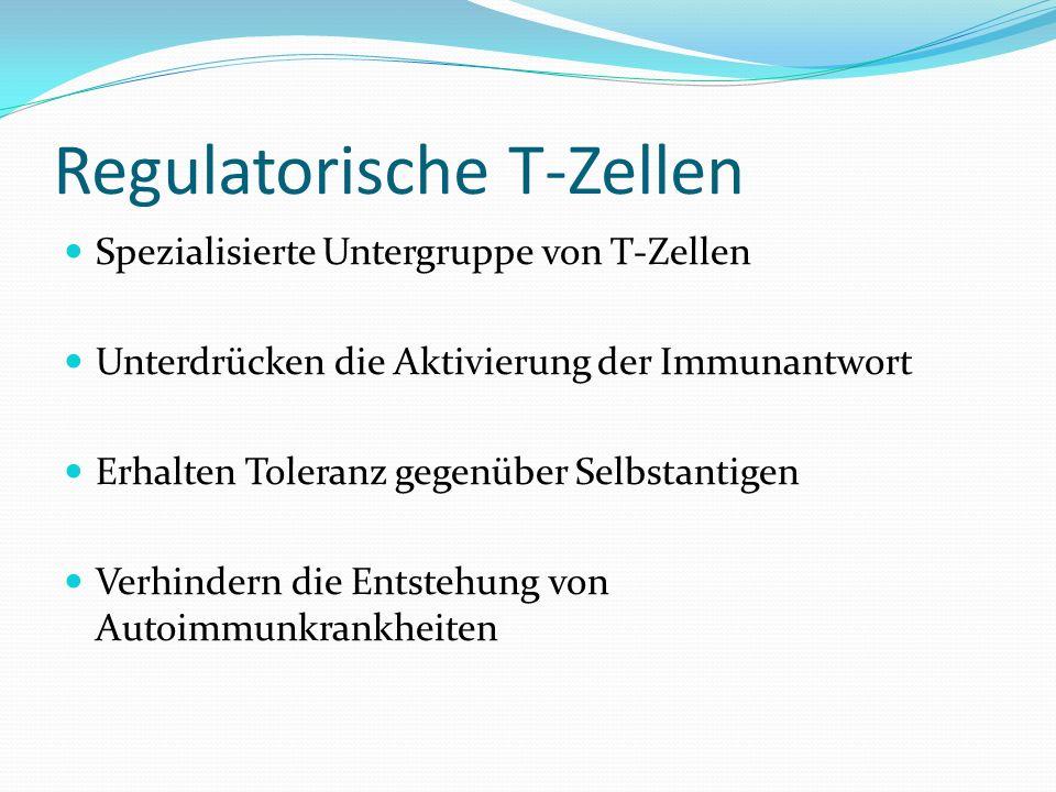 Regulatorische T-Zellen