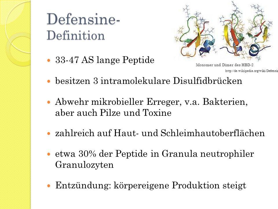 Defensine- Definition