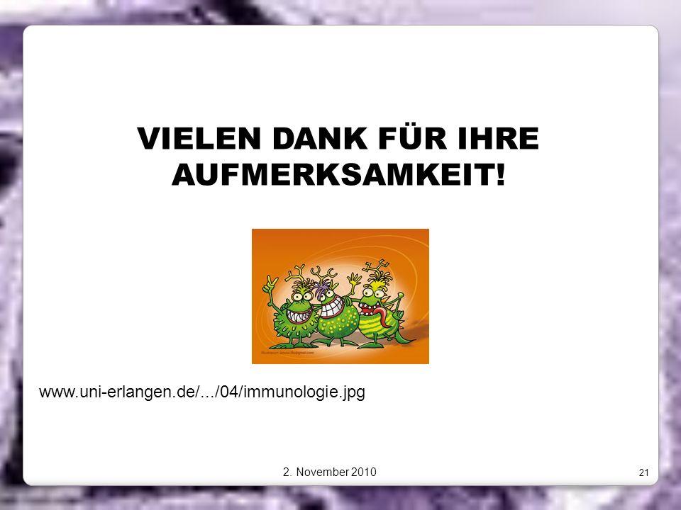VIELEN DANK FÜR IHRE AUFMERKSAMKEIT!