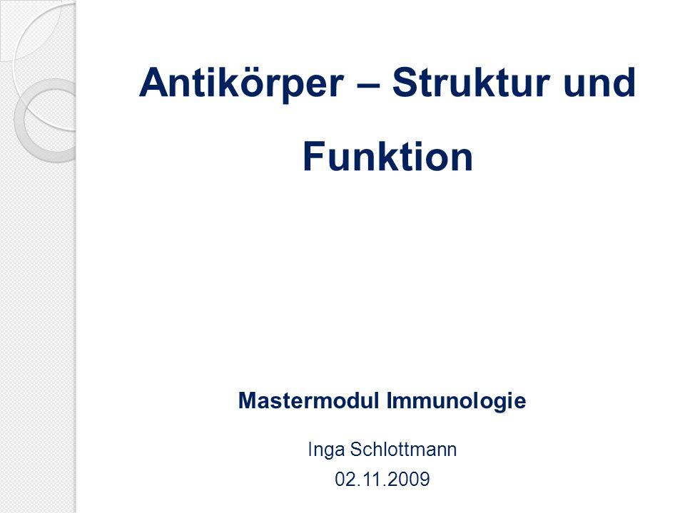 Antikörper – Struktur und Funktion