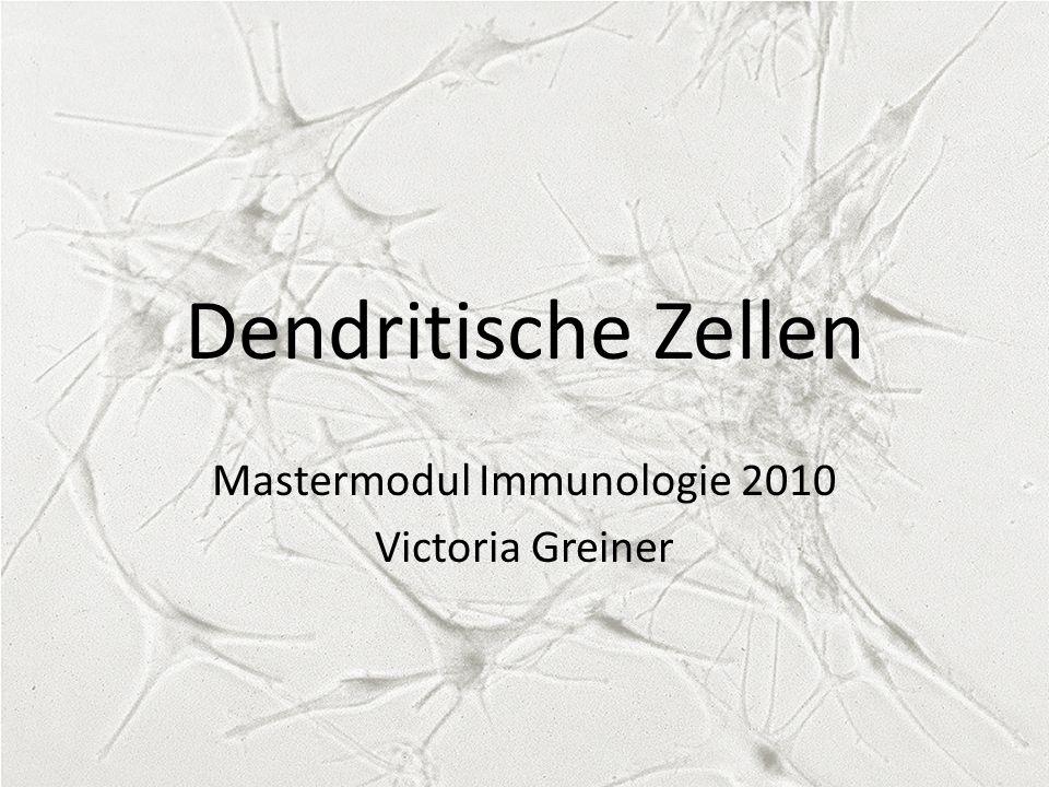 Mastermodul Immunologie 2010 Victoria Greiner