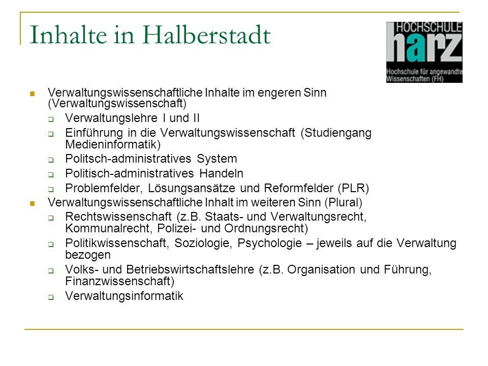 Inhalte in Halberstadt