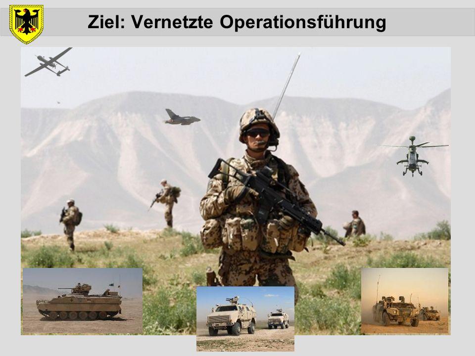 Ziel: Vernetzte Operationsführung