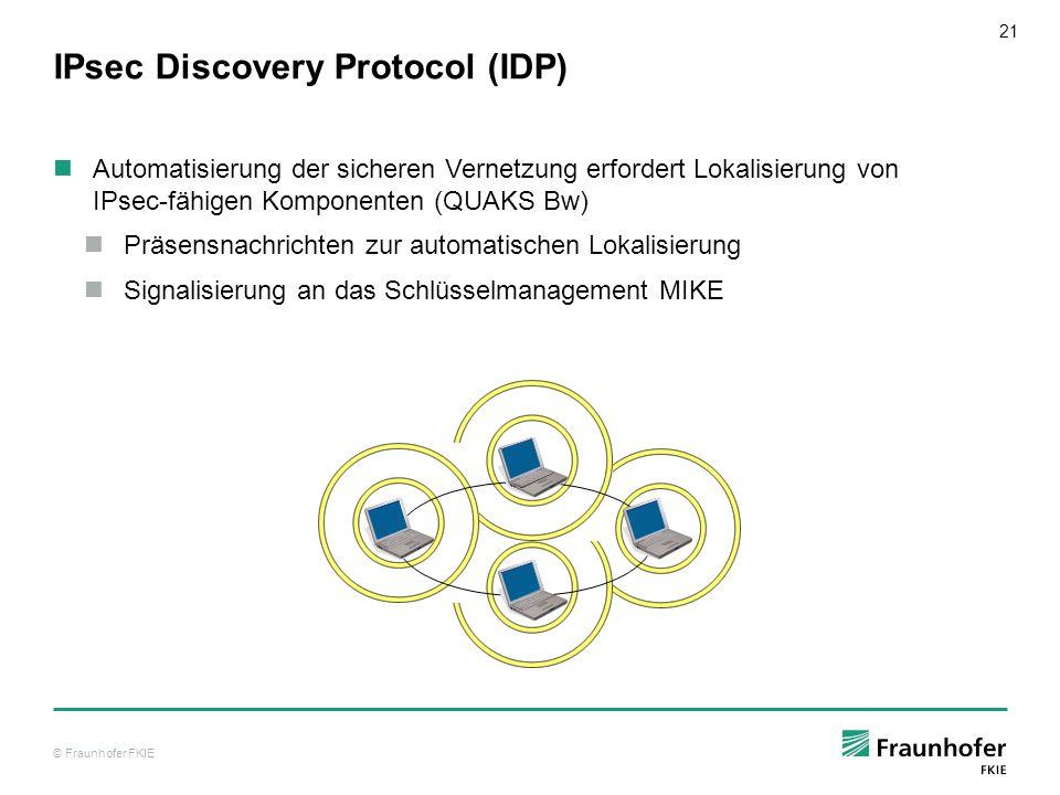 IPsec Discovery Protocol (IDP)
