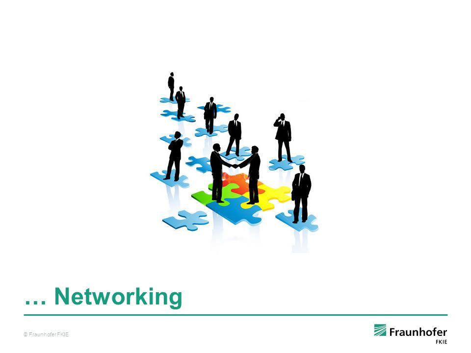 … Networking © Fraunhofer FKIE