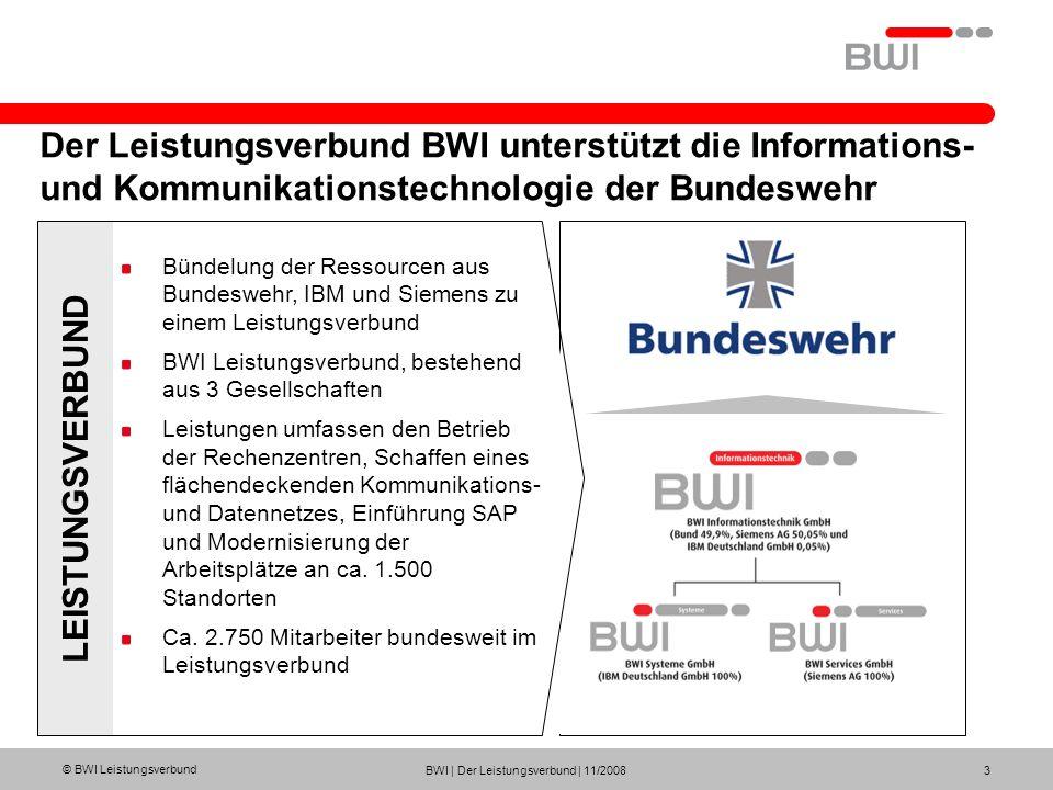 Der Leistungsverbund BWI unterstützt die Informations- und Kommunikationstechnologie der Bundeswehr