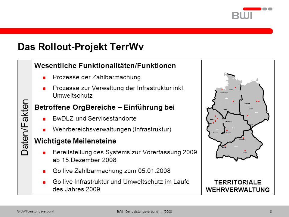 Das Rollout-Projekt TerrWv