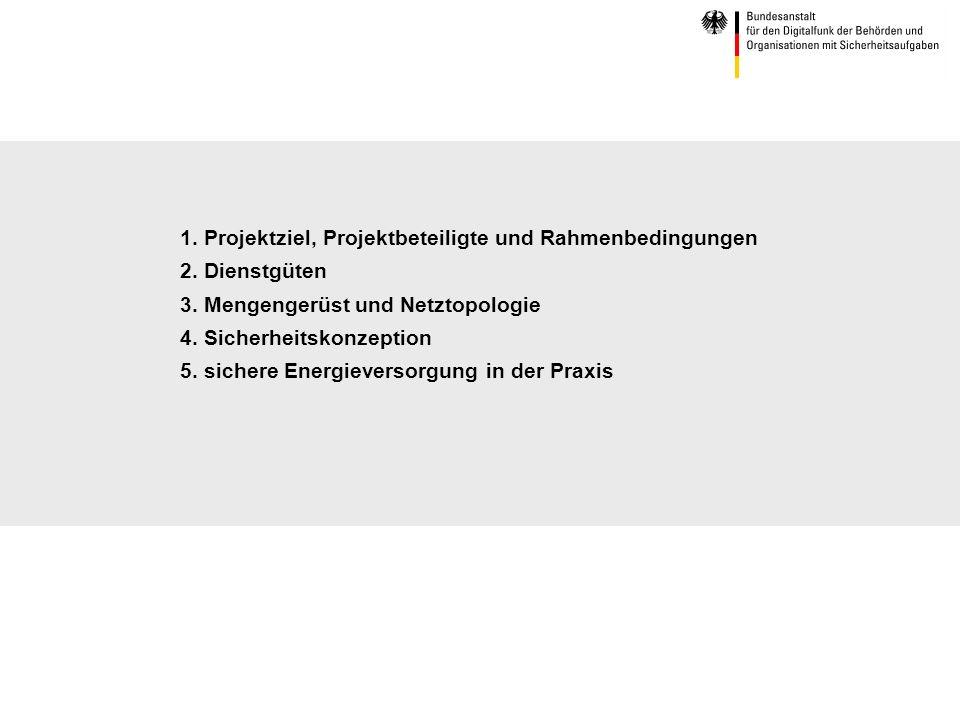 1. Projektziel, Projektbeteiligte und Rahmenbedingungen 2
