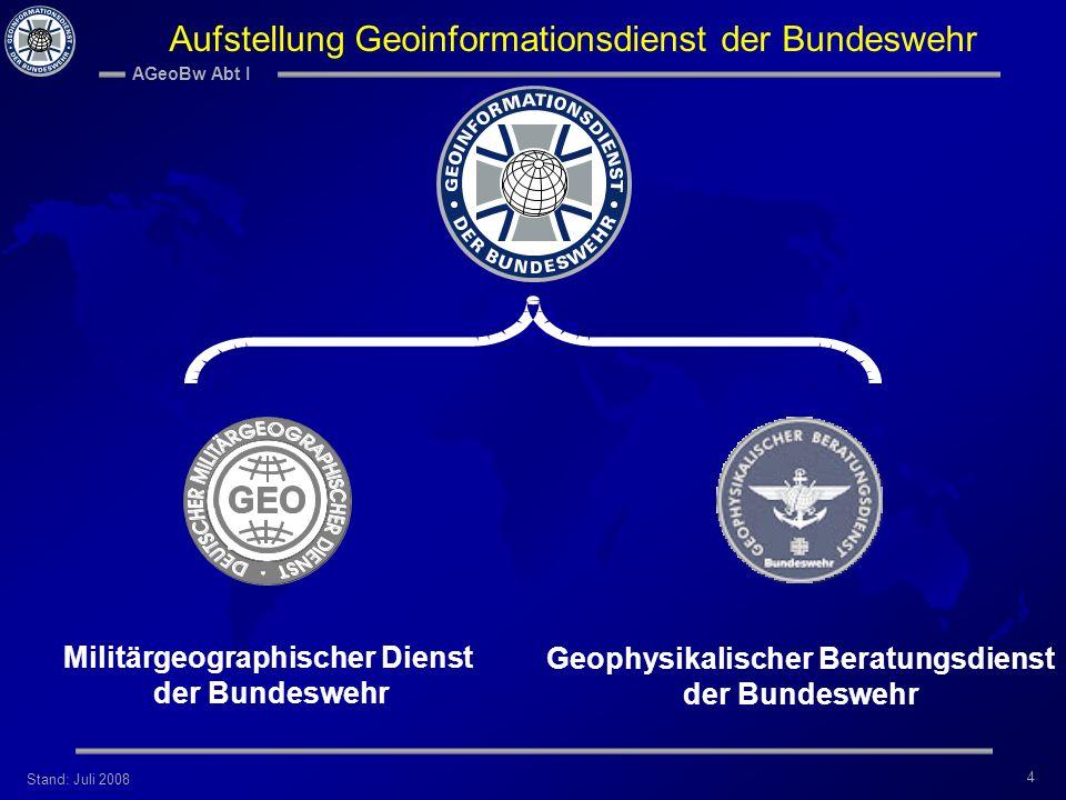 Militärgeographischer Dienst Geophysikalischer Beratungsdienst