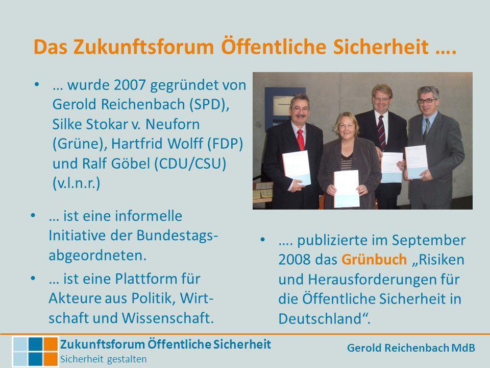 Das Zukunftsforum Öffentliche Sicherheit ….