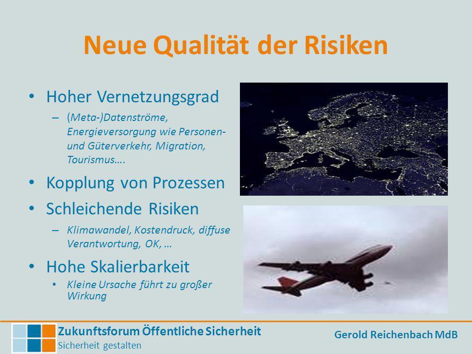 Neue Qualität der Risiken
