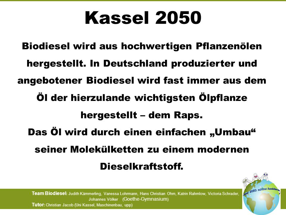 Kassel 2050