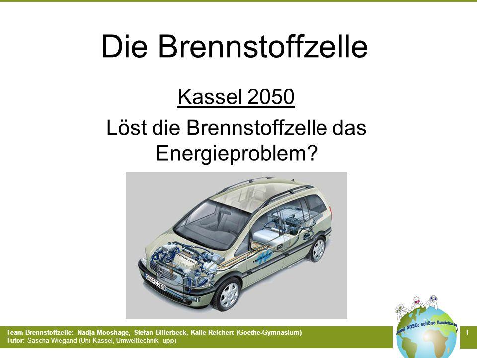 Kassel 2050 Löst die Brennstoffzelle das Energieproblem