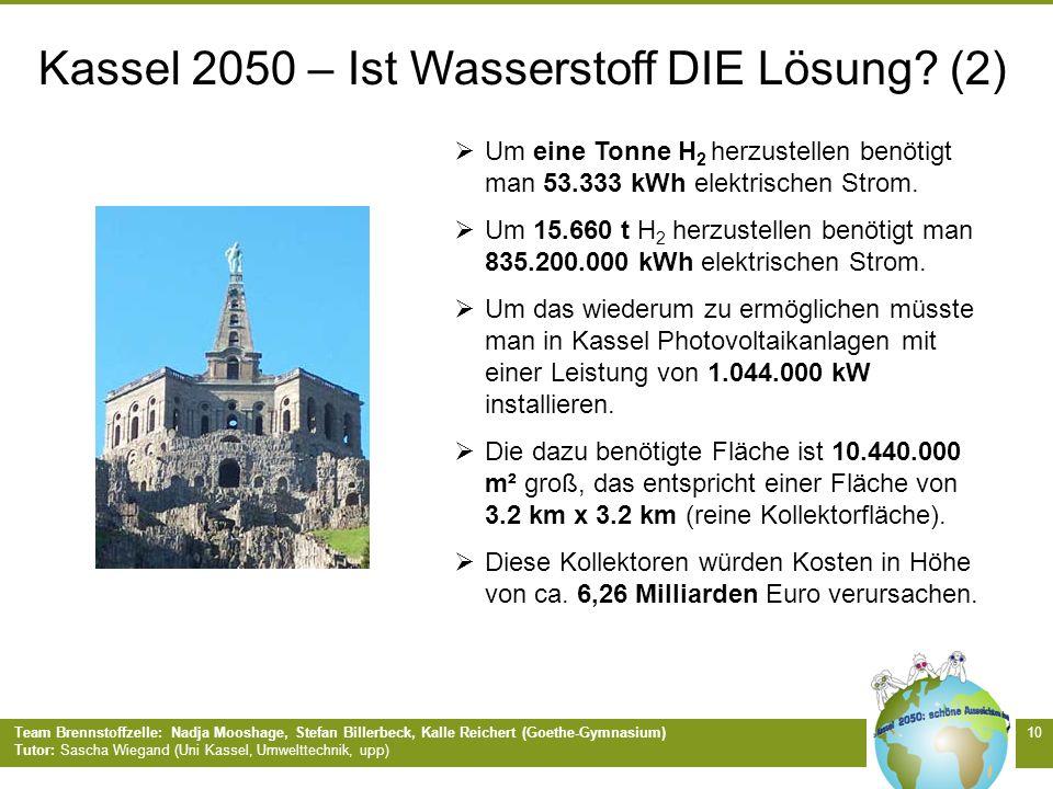 Kassel 2050 – Ist Wasserstoff DIE Lösung (2)