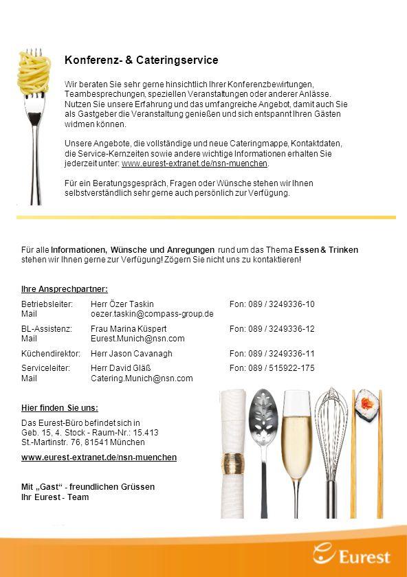 Konferenz- & Cateringservice