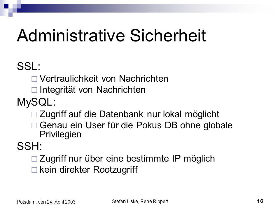 Administrative Sicherheit