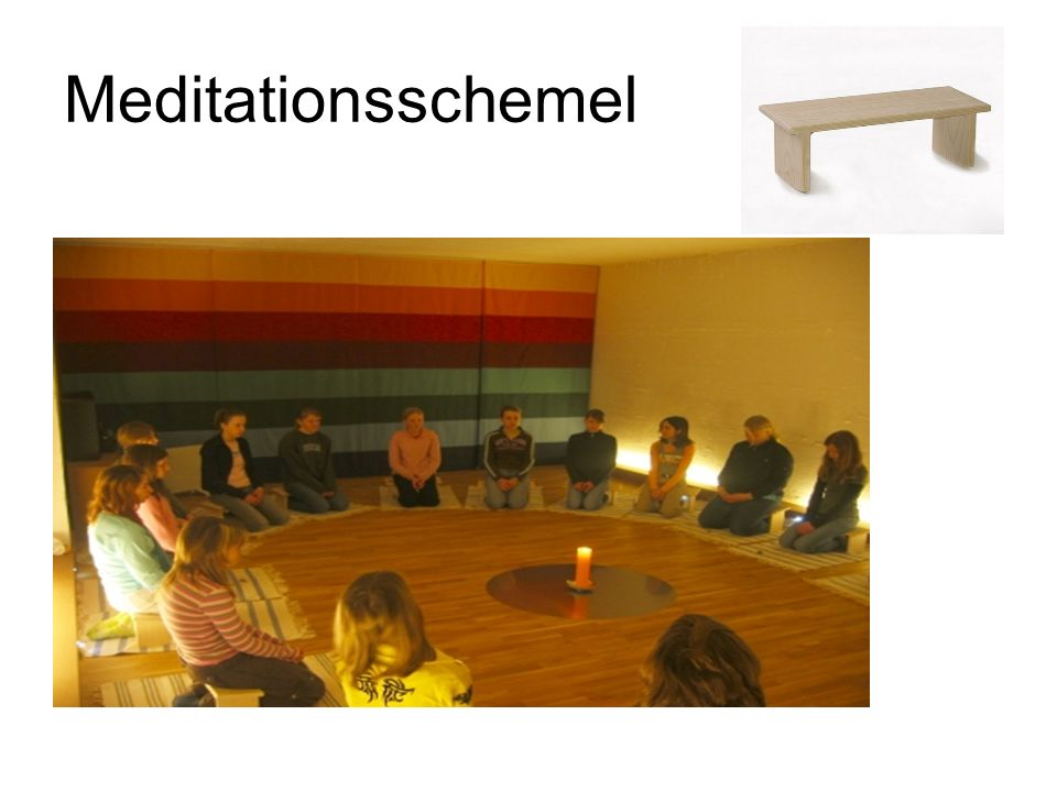 Meditationsschemel