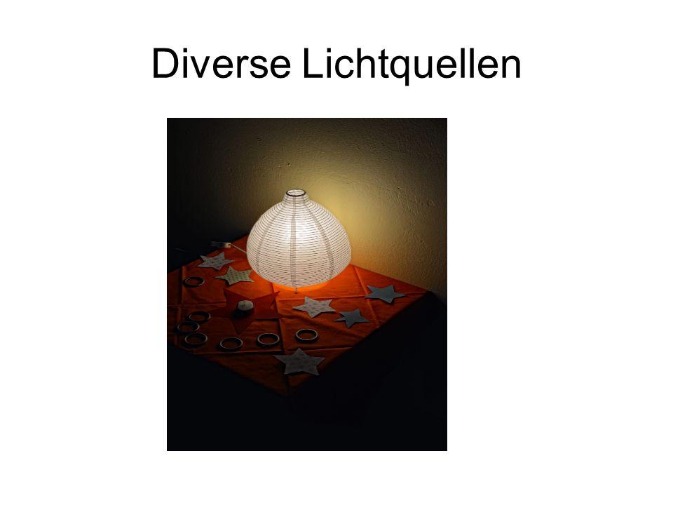 Diverse Lichtquellen