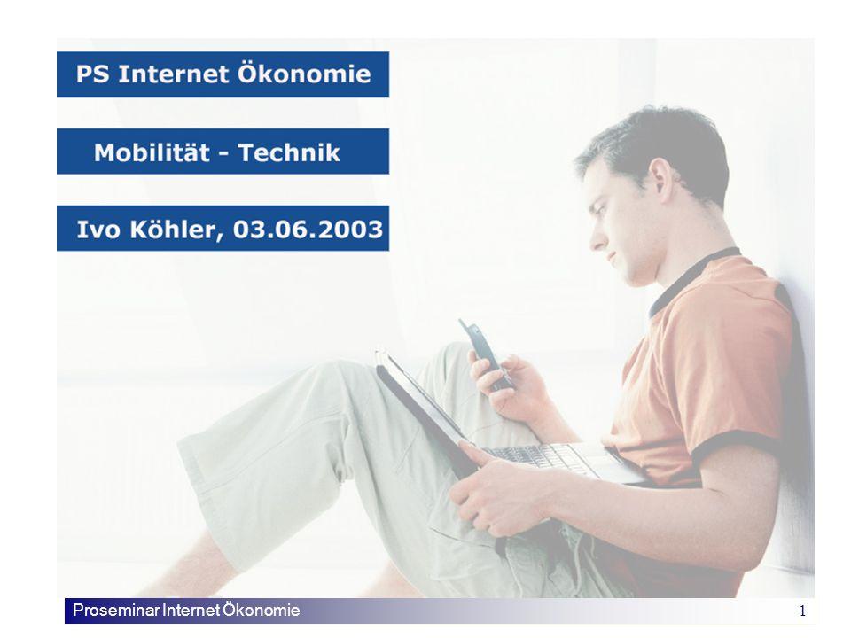 Proseminar Internet Ökonomie