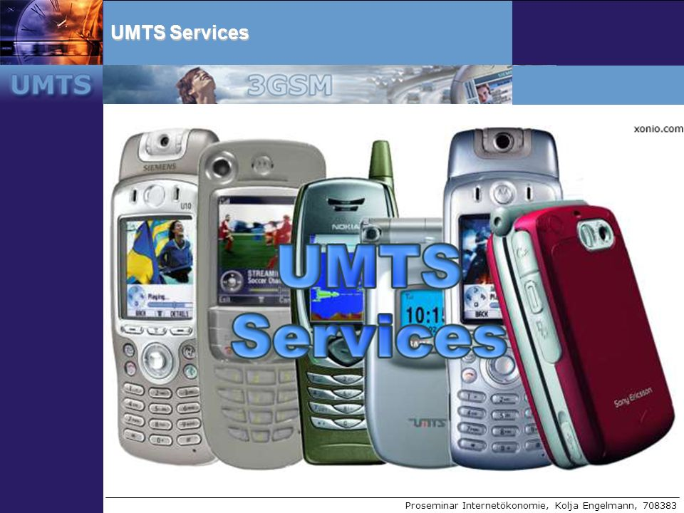 UMTS Services