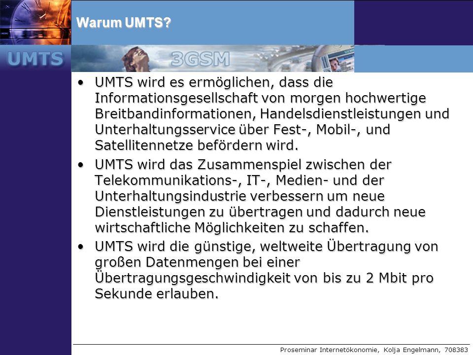 Warum UMTS