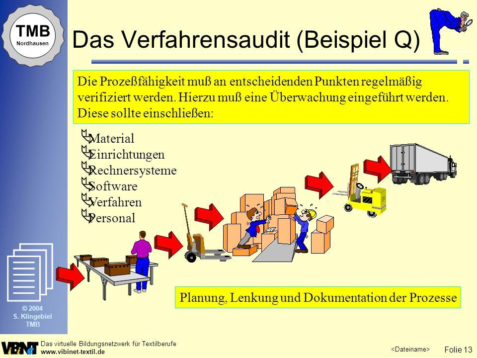 Das Verfahrensaudit (Beispiel Q)