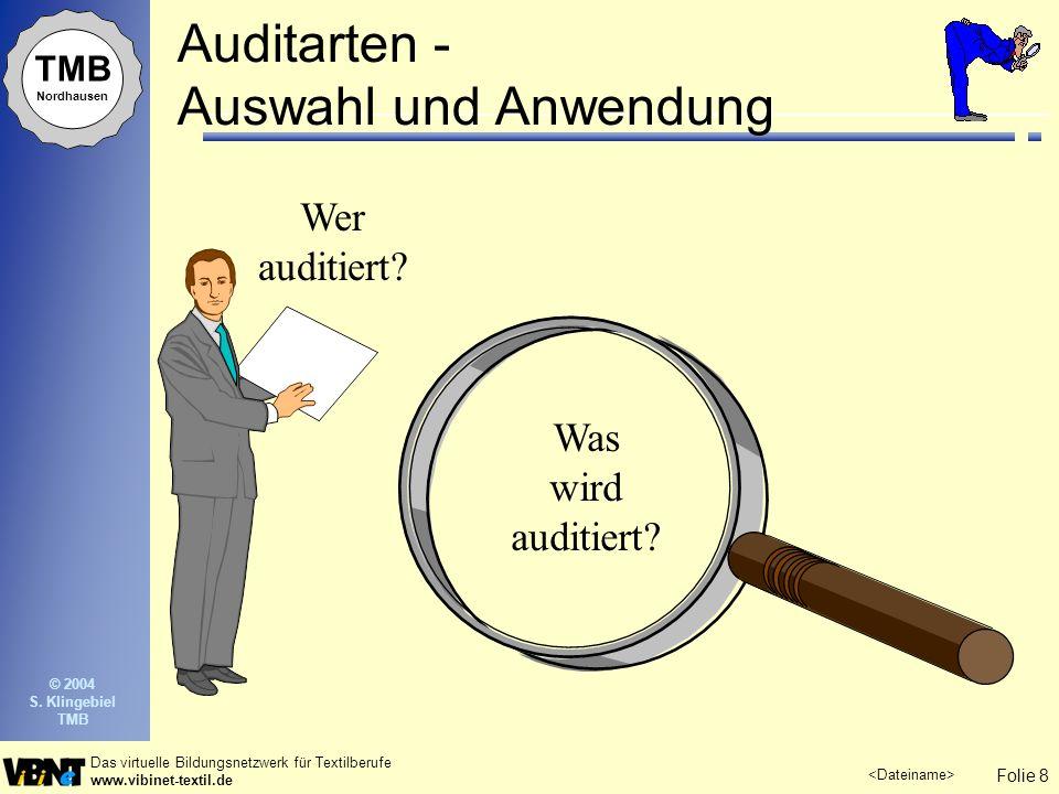 Auditarten - Auswahl und Anwendung