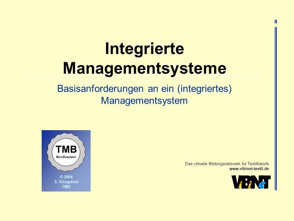 Integrierte Managementsysteme