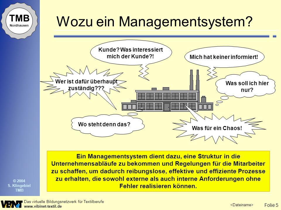 Wozu ein Managementsystem