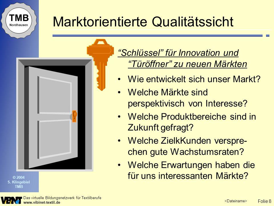 Marktorientierte Qualitätssicht