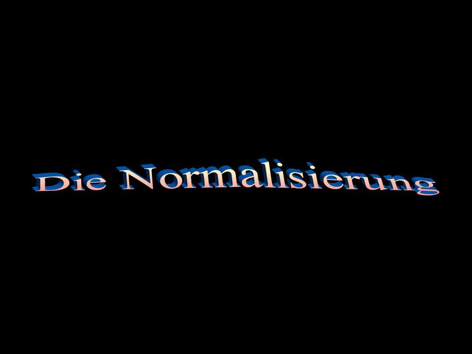 Die Normalisierung