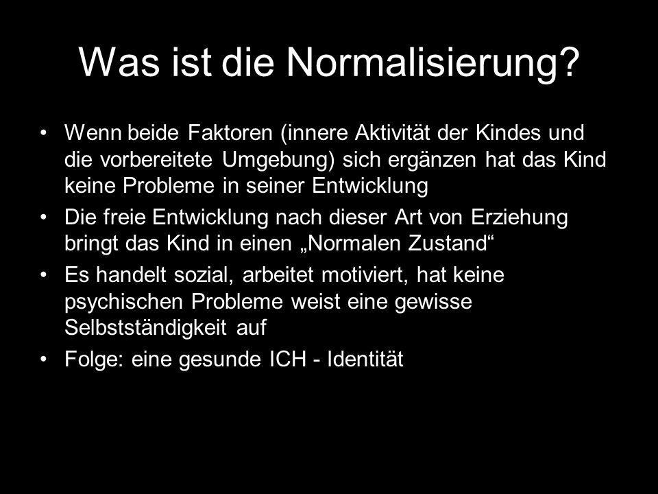 Was ist die Normalisierung