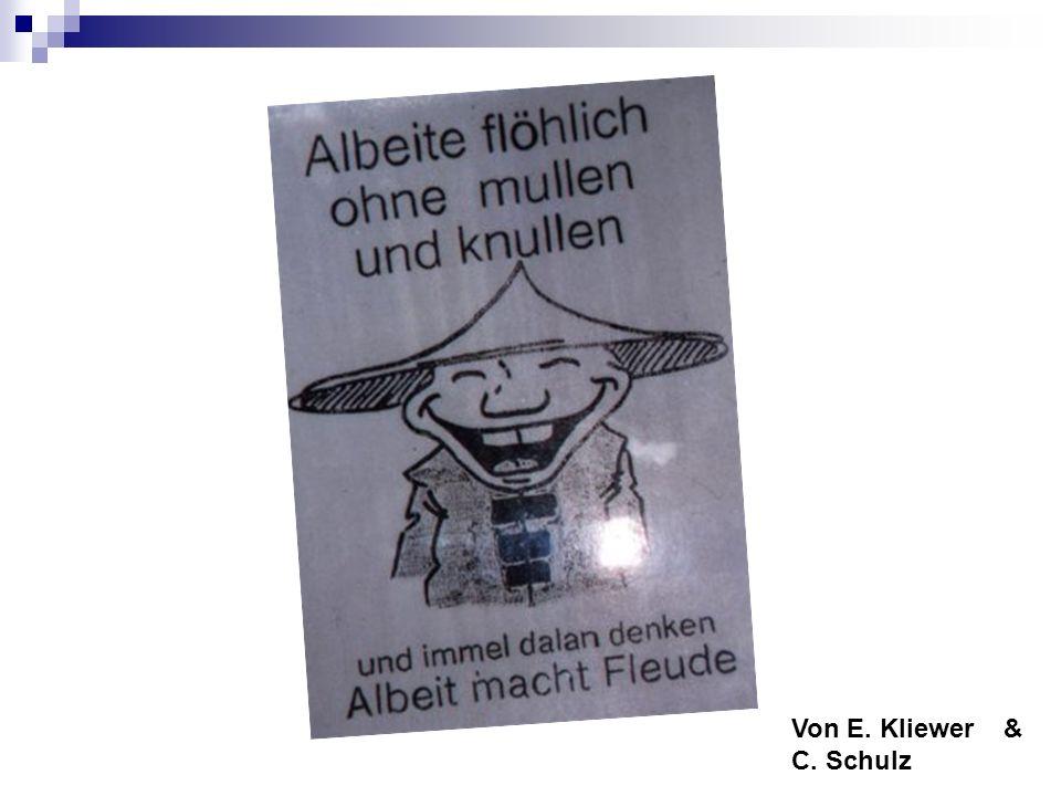 Von E. Kliewer & C. Schulz