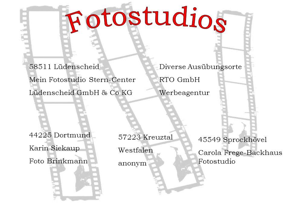 Fotostudios 58511 Lüdenscheid Mein Fotostudio Stern-Center