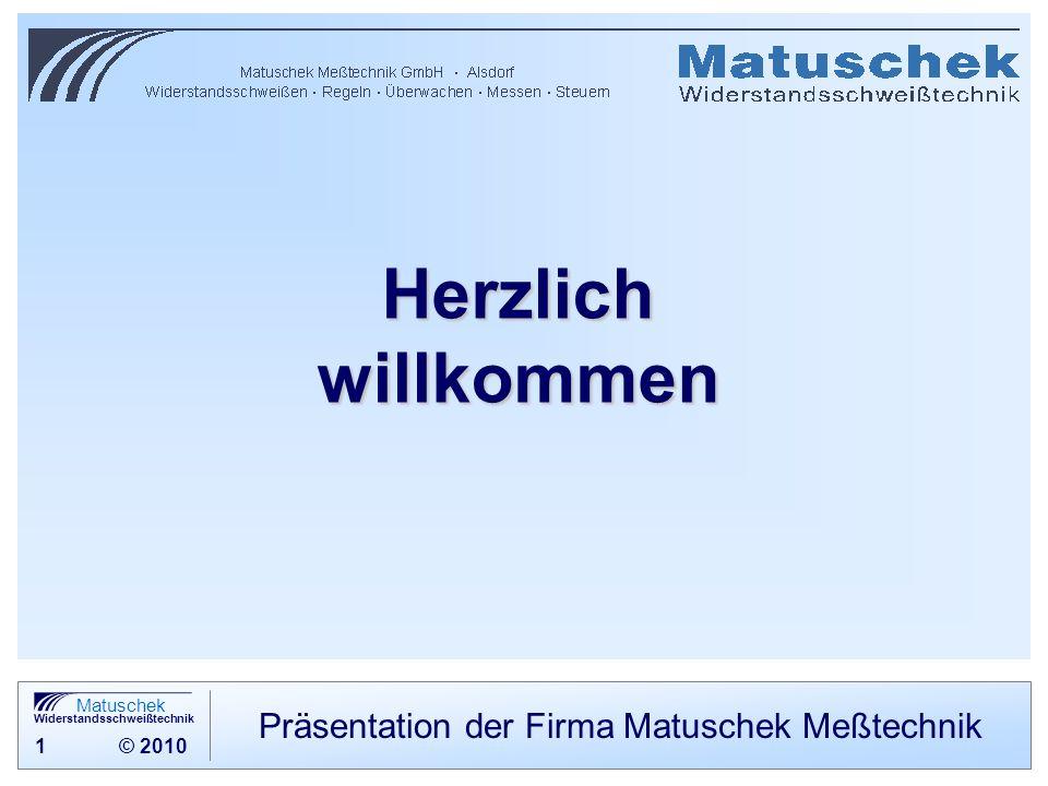 Präsentation der Firma Matuschek Meßtechnik
