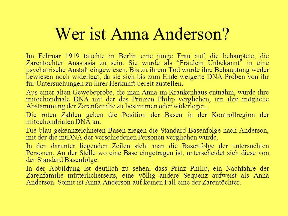 Wer ist Anna Anderson