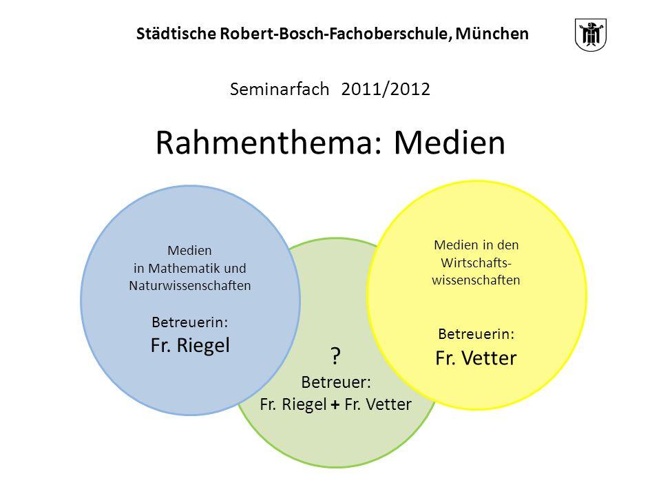 Städtische Robert-Bosch-Fachoberschule, München