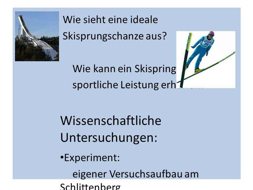 Wissenschaftliche Untersuchungen: