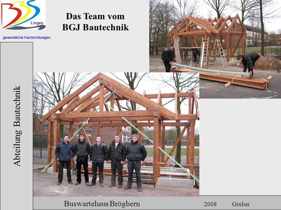Das Team vom BGJ Bautechnik