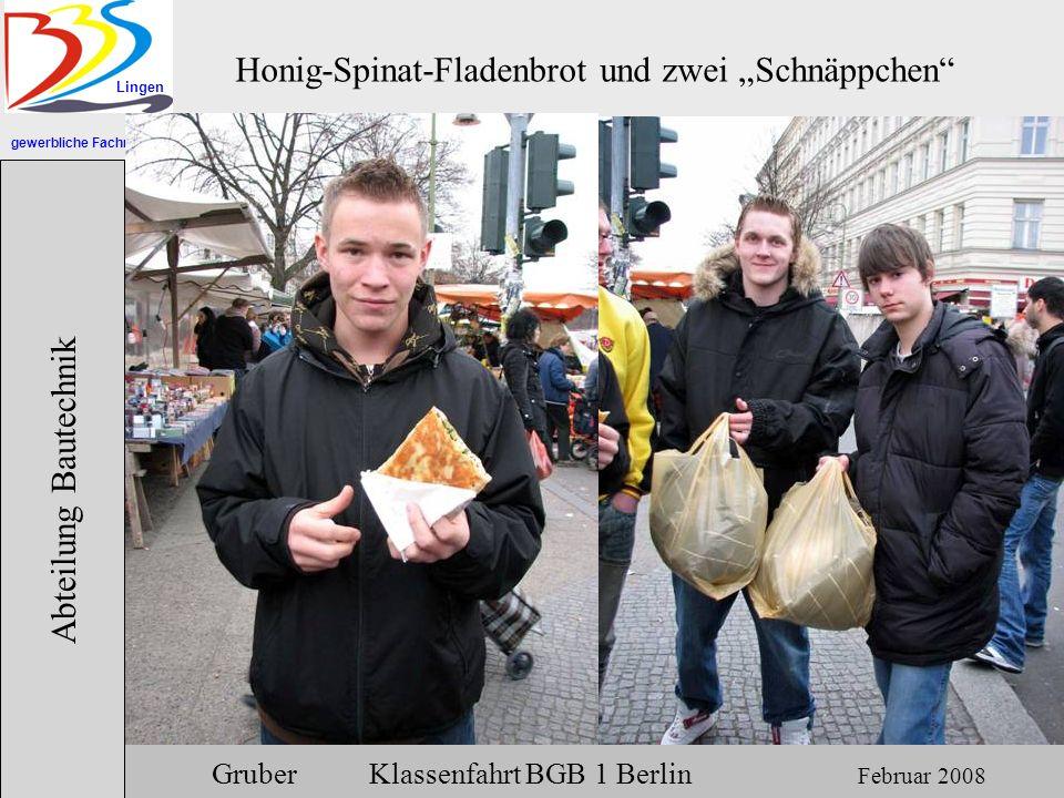 """Honig-Spinat-Fladenbrot und zwei """"Schnäppchen"""