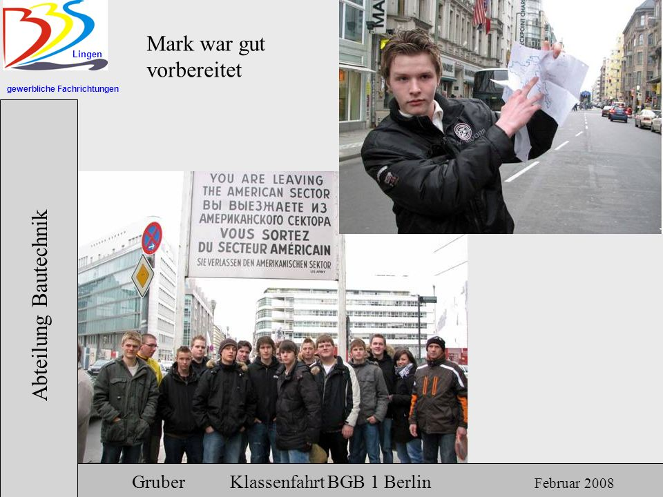 Mark war gut vorbereitet