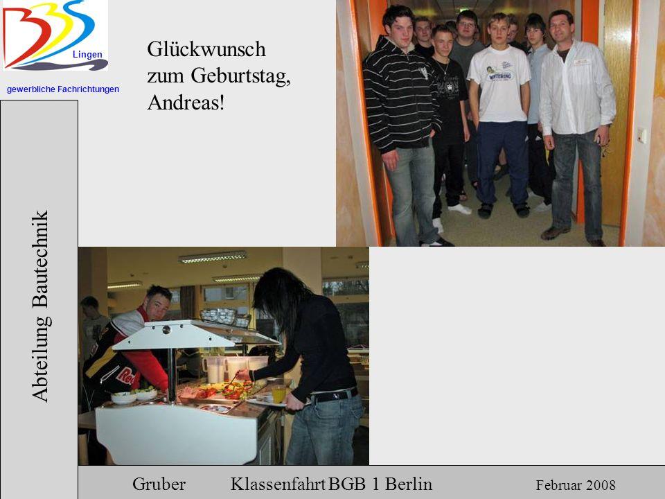 Glückwunsch zum Geburtstag, Andreas!