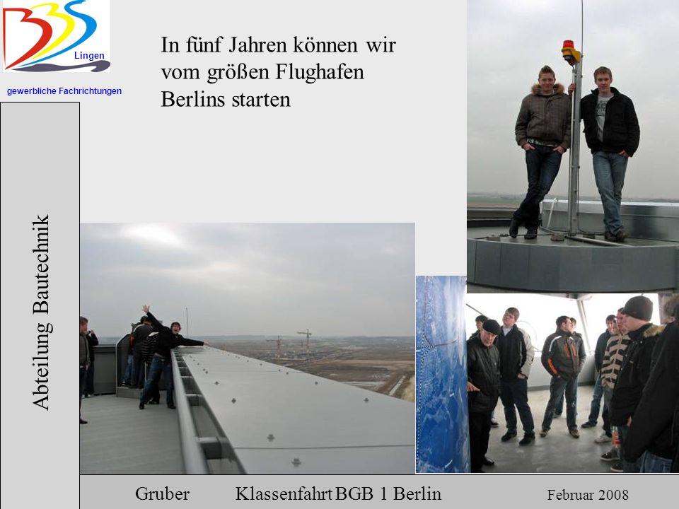 In fünf Jahren können wir vom größen Flughafen Berlins starten