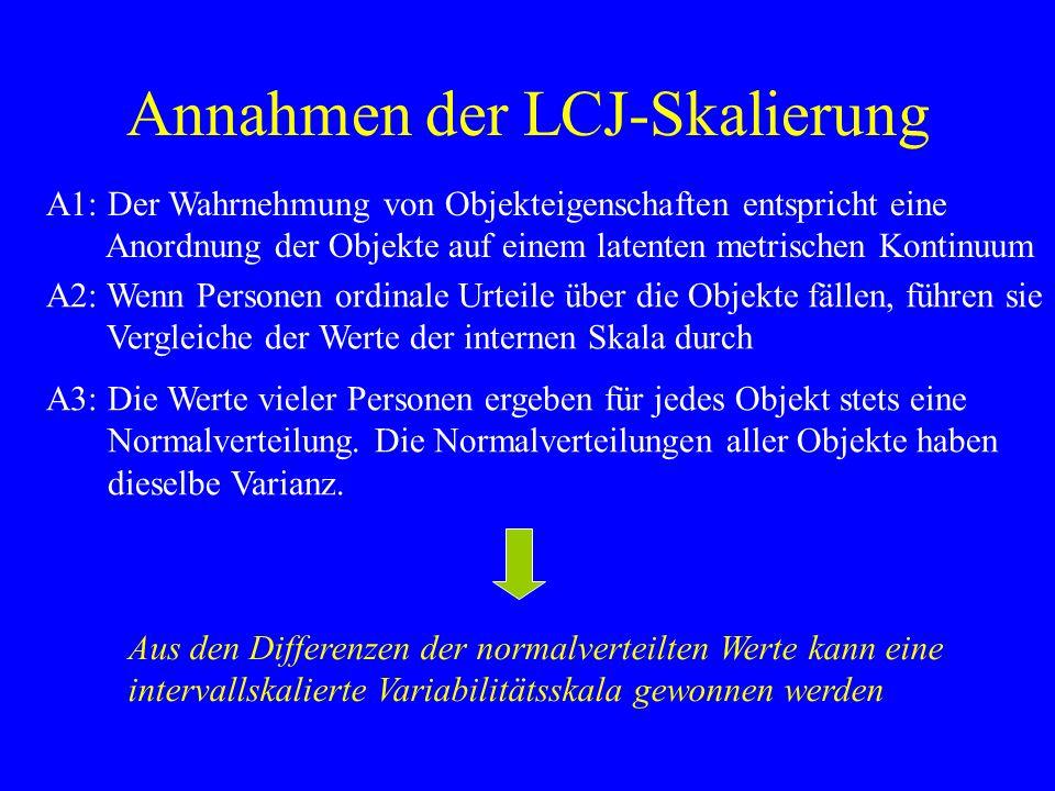 Annahmen der LCJ-Skalierung