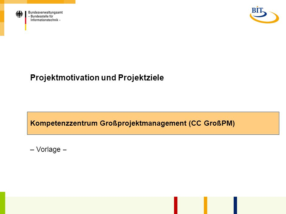 Projektmotivation und Projektziele